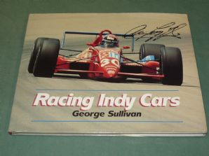 RACING INDY CARS (Sullivan 1992) SIGNED Arie Luyendyk